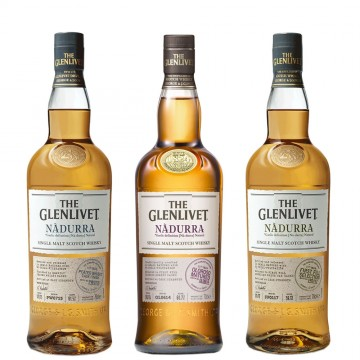 The Glenlivet Nàdurra Serie - 3er Pack