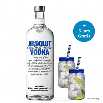 Dein Absolut Jar Paket - Blue