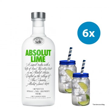 Dein Absolut Jar Paket - Lime