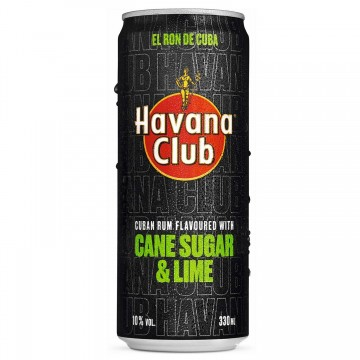 Havana Club Sugar & Lime - 330ml