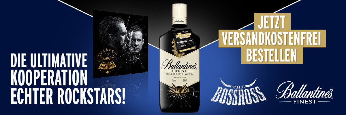 Ballantines - The BossHoss-Special Edition